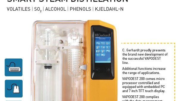 Gerhardt Distillation System