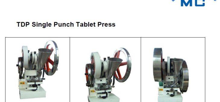 SDM Single Punch Tablet Press (TDP)