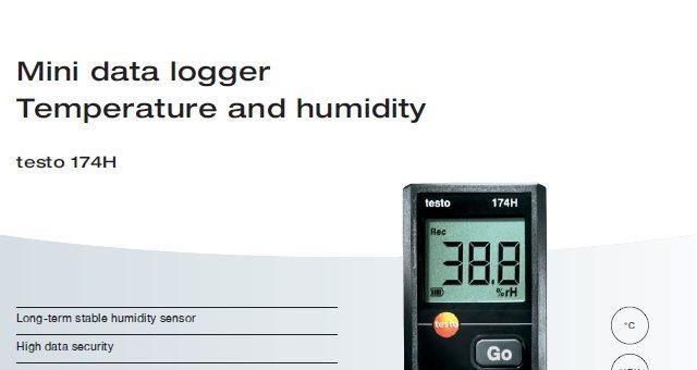 Testo Thermohygrometer Datalogger