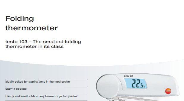 Testo Thermometer & Temperature Meter